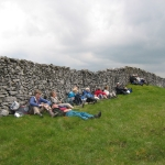 Yorkshire Dales 2011 - Relaxing by the Wall