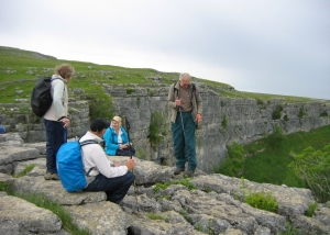 Yorkshire Dales 2011 - Limestone Cliffs